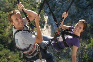 sling swinger giant tarzan swing Cabo San Lucas Wild Canyon cabodiscounttours