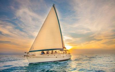 luxury sunset sail adults only past the famous arch into the pacific ocean with cabo adventures cabo san lucas mexico