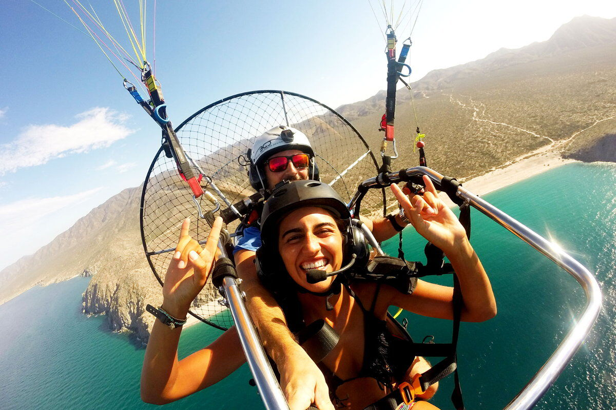 paragliding-tandem-coastline