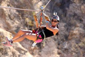 Zip Lines and Bungee Jumping in los Cabos wild Canyon Adventures