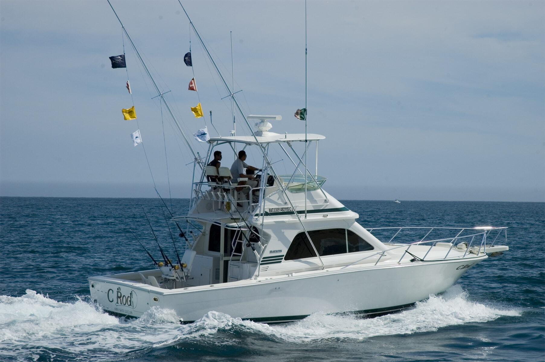 38ft cabo sport fishing charters cabo discount tours for Best sport fishing boats