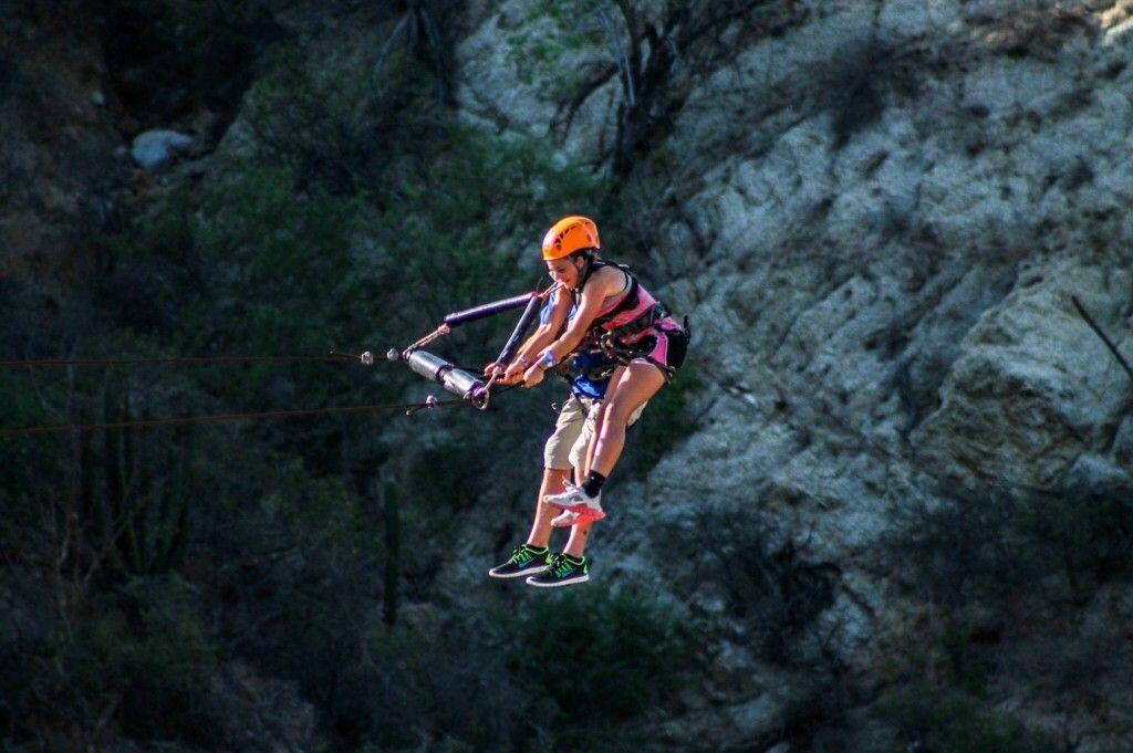 Sling Swinger in Los Cabos adrenaline rush cabo san lucas land tours