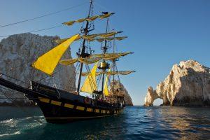 cabos best booze cruise aboard buccaneer queen replica pirate ship
