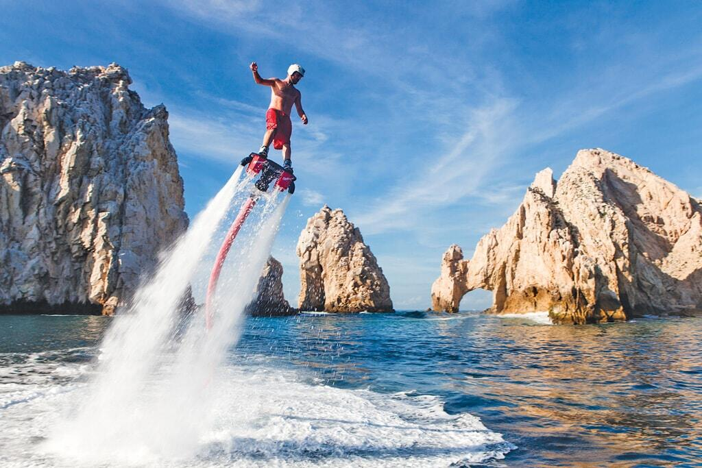Cabo Flyboard by the Arch