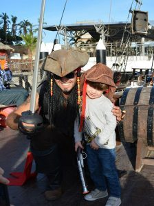 cabo legend sunset cruise in cabo san lucas boy with a pirate activities for kids in cabo