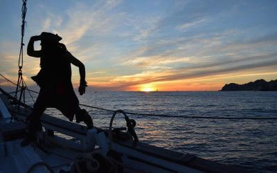 be a pirate in los cabos aboard te cabo legend, the legendary cabo san lucas sunset cruise for kids