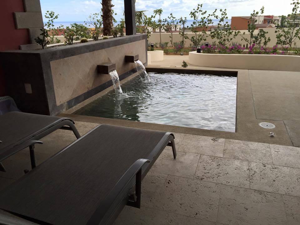 Copala Condo Deck and Splash Tub