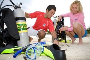 Scuba Dive Cabo San Lucas PADI Dive Center Dive Training class from open water to Divemaster