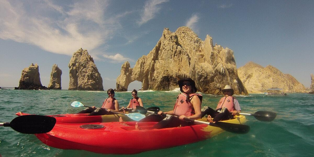 kayak-snorkeling-arch