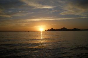 Cabo San Lucas Sunset Cruises in the Cabo Bay, near Medano Beach